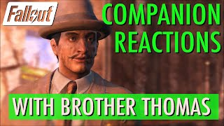 Companion Reactions, Brother Thomas, Emogene Takes a Lover - Fallout 4