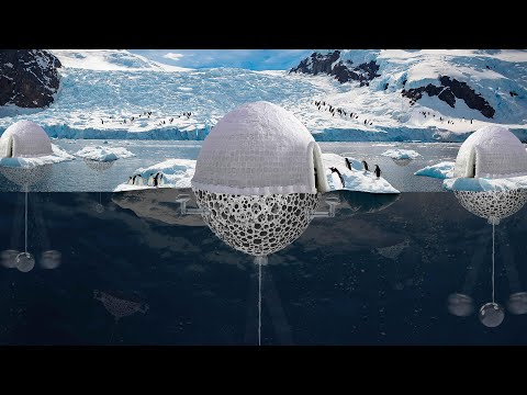 Penguins protection system, #Antarctica designed by Sajjad Navidi