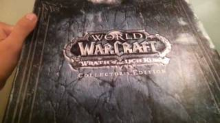 Wrath of The Lich King Collectors Edition unboxing