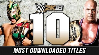 WWE 2K16 - Top 10 Custom Championship Titles (Most Downloaded)