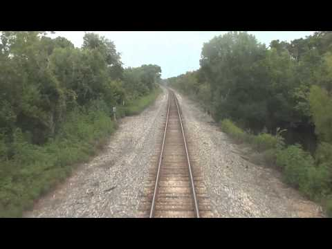 HiDef: Amtrak's City of New Orleans: New Orleans to Hammond, LA