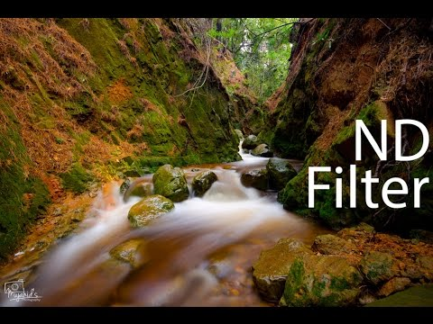 ND Filter (ND8), Neutral Density Filter for Landscape Photography