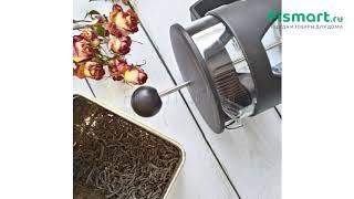 Покупки для кухни | Чайники и термосы: обзор Заварочный чайник с поршнем Fissman Mokka 600 мл 9002