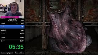 Silent Hill 3 New Game Speedrun in 34:51