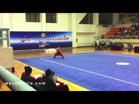 6 Li Meng Nan 李孟南 (Gansu 甘肃) - Men's Gunshu - 9.42 (7)