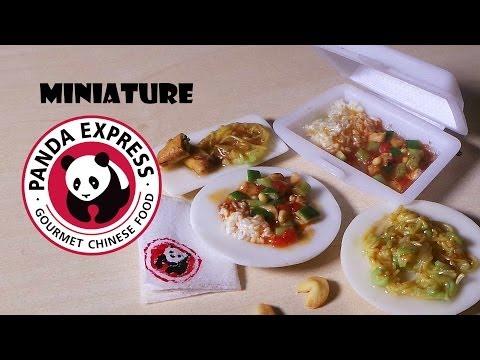 Miniature Panda Express - Polymer Clay Tutorial