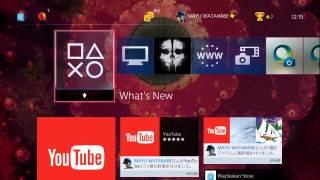 【ps4】新機能ホーム画面のテーマを変更してみた♪  実況#215
