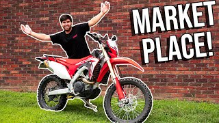 We BOUGHT A SUPERMOTO Off FACE-BOOK! *STOLE IT*