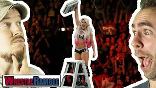 Should Alexa Bliss Have WON Raw Title?! WWE Money In The Bank 2018 Review | WrestleRamble