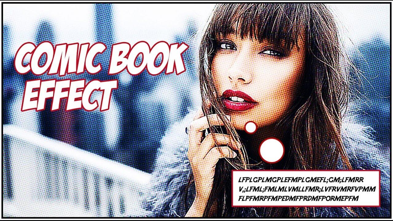 Photoshop tutorial comic book effect youtube photoshop tutorial comic book effect baditri Gallery