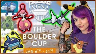PVP TOURNAMENT PREP: SILPH BOULDER CUP POKÉMON GO!