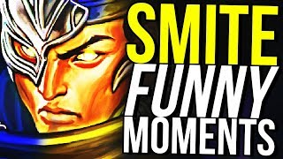 BOUNCE GOD! - SMITE FUNNY MOMENTS