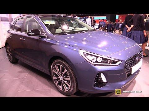 2017 Hyundai i30 Exterior and Interior Walkaround Debut at 2016 Paris Motor Show