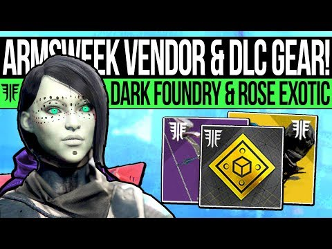 Destiny 2 | ARMSWEEK VENDOR & BLACK WEAPONS! Rose Exotic, Update Warnings, DLC Changes & Annual Pass