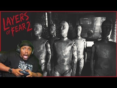 Oh Heck Nah! That's A New Level Of Creepy! - Layers Of Fear 2 (Ep.3)