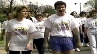 March 15, 1990 Jenny Burleson Jerry Tracey NBC 13 Walk for MS commercial Birmingham Alabama Thumbnail