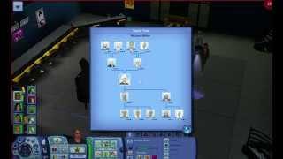 The Sims 3: 10 generations family tree!