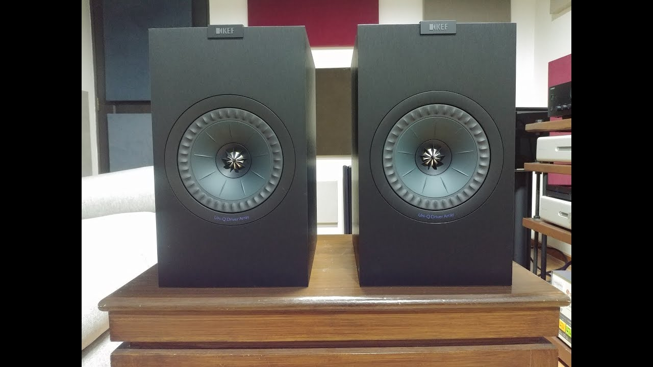 KEF Q350 review compared to KEF LS50, Klipsch RP-160M, Elac B6 2