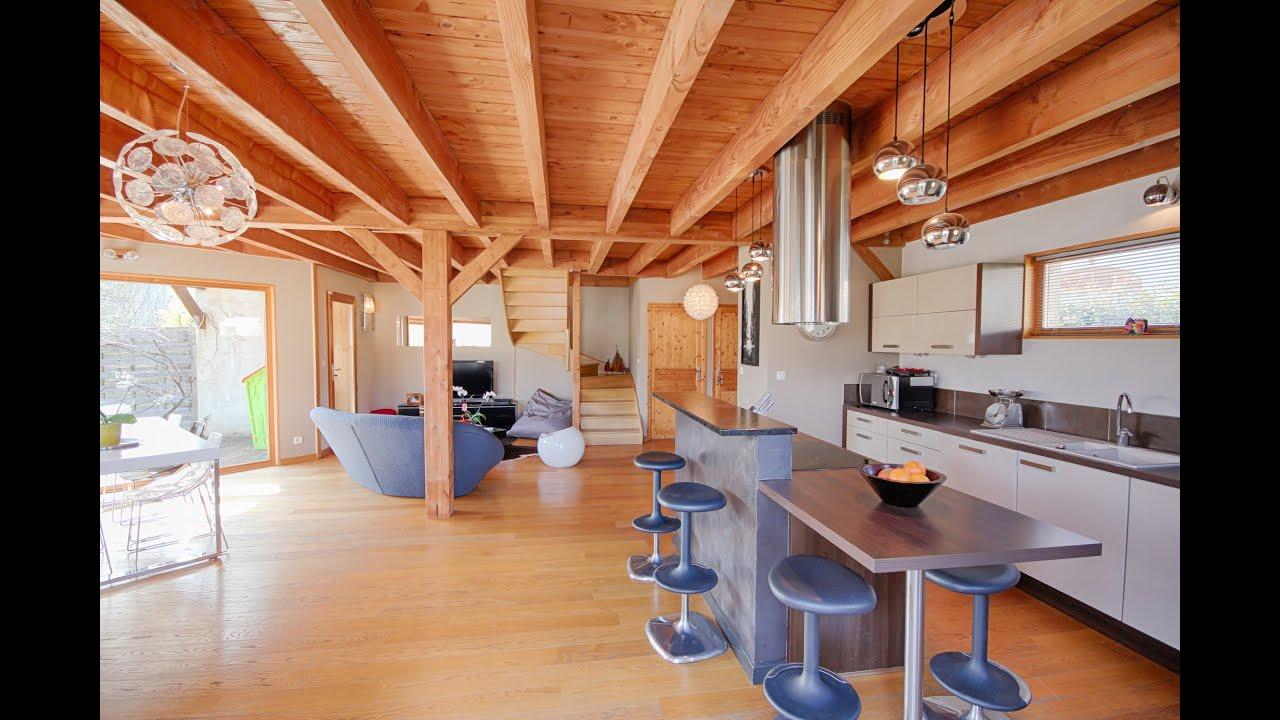 A vendre, Sur l Axe AnnecyGenève,venez Superbe Villa ossature bois de 1
