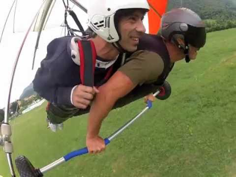 Voli Tandem In Deltaplano - Hang Gliding Tandem Flight