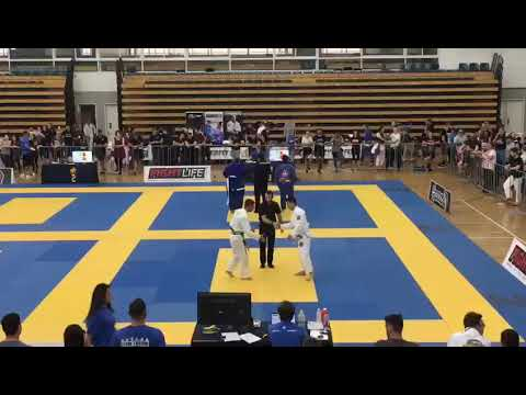 IBJJF Pan Pacific Championships 2017 - Adult Master1 Light Feather White Division