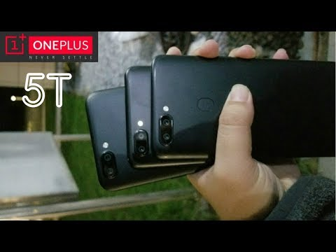 OnePlus 5T Real First Look & Teaser