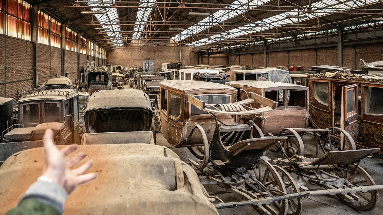 FOUND an Abandoned Warehouse Hangar FULL OF Valuable Antique Carriages!