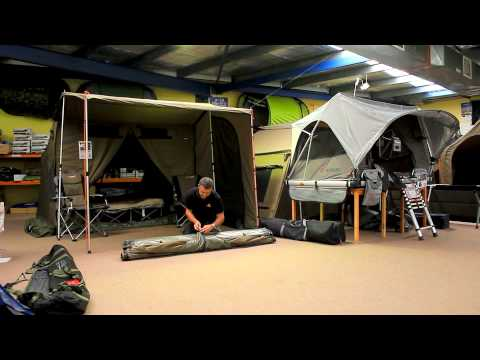How To Pack Up An Oztent RV & How To Pack Up An Oztent RV - YouTube