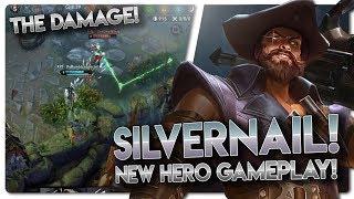 SILVERNAIL GAMEPLAY!! Vainglory 5v5 Gameplay - Silvernail |WP| Bottom Lane Gameplay