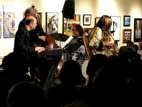 Rebecca Parris performing