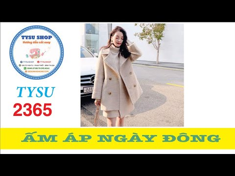 Cắt May Áo Khoác Nỉ Hàn Quốc - 2365