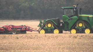 john deere 9rx 4 track tractor on demo