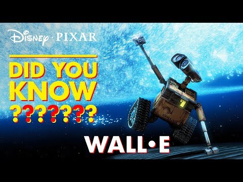 WALL•E Easter Eggs & Fun Facts   Pixar Did You Know? by Disney•Pixar