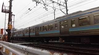 【普通、回送?】中央線211系を撮った。