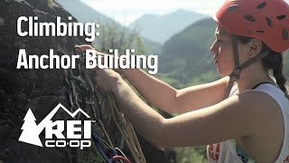 Rock bir Binanın Üst Halat Çapa Dört Tırmanmayı: