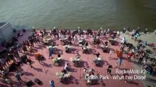 Скачать Tribute To Linkin Park Made By 1000 Fans Performing The Song What I Ve Done