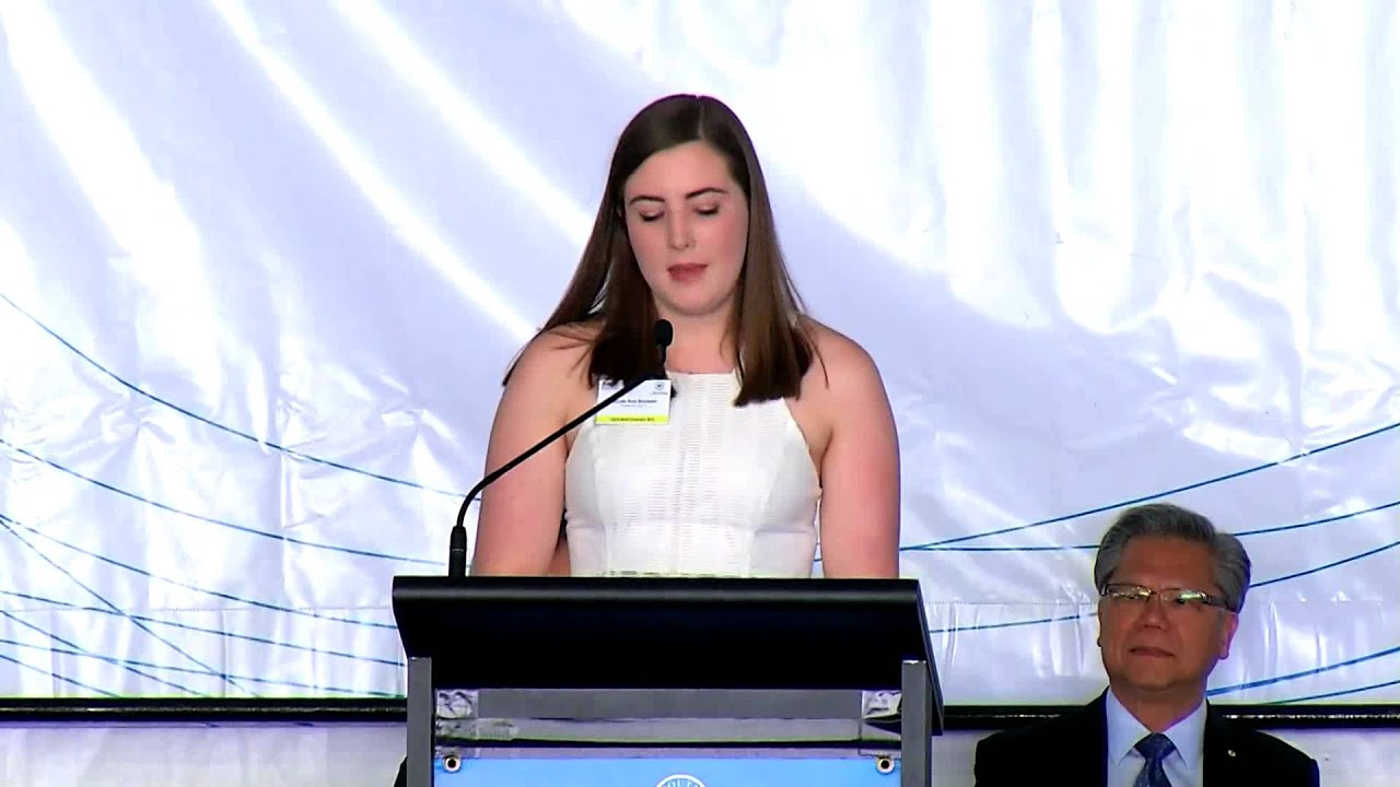 sace board_SACE Merit Ceremony 2016 — Student responder speech - YouTube