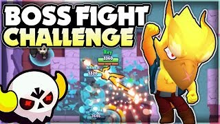 THE BEST BOSS FIGHT CHALLENGE! + Going All In Ticket Gamble! - Boss Fight Gameplay! - Brawl Stars