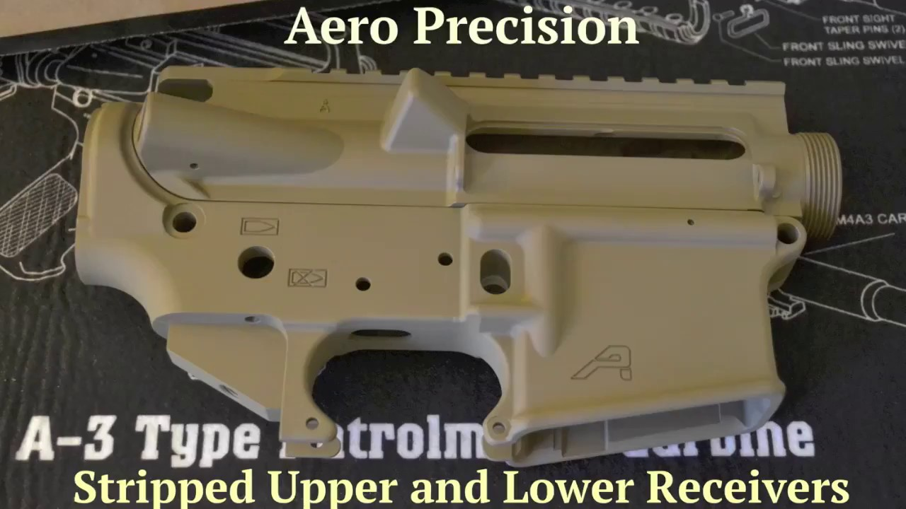 Aero Precision FDE Receivers Unboxed
