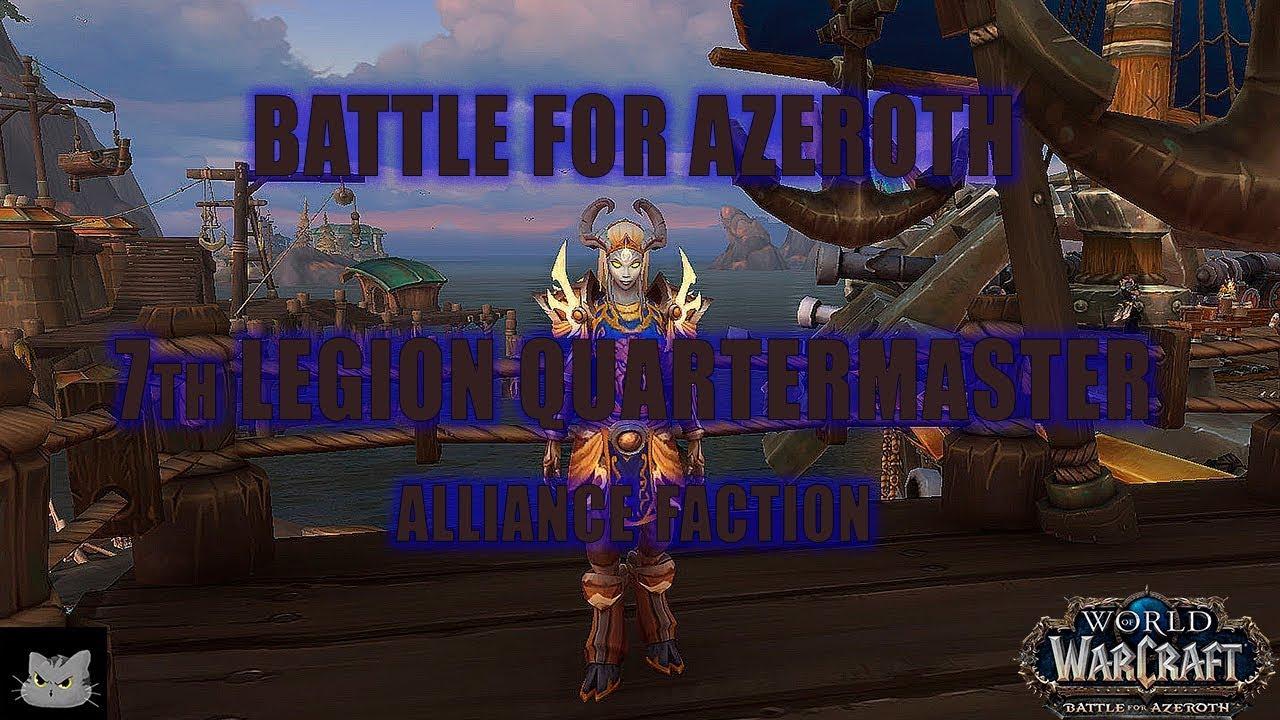 7th Legion Quartermaster | World of Warcraft: Battle for ...