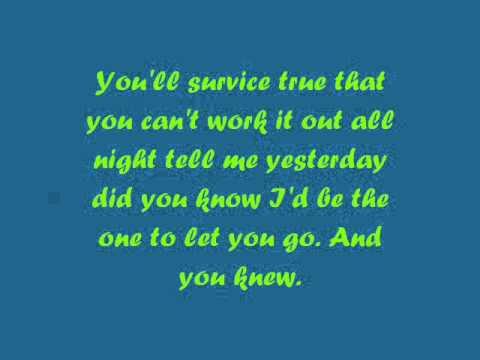 Anastacia - I'm Outta Love // Con Testo