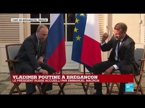 REPLAY - Vladimir Poutine et Emmanuel Macron répondent aux journalistes