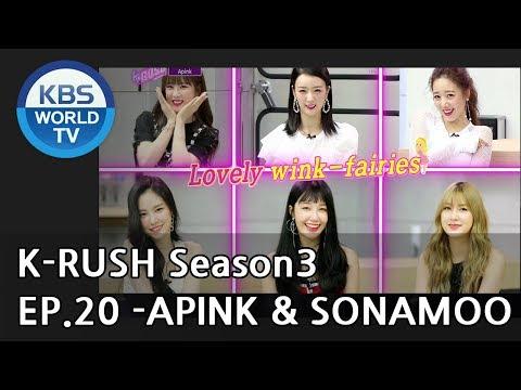 Today's GUEST : APINK & SONAMOO [KBS World Idol Show K-RUSH3 2018.07.27]