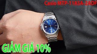 Mở hộp Đồng hồ Casio MTP-1183A-2ADF Chính hng tại Shopwatch.vn