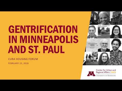 Gentrification in Minneapolis and St. Paul