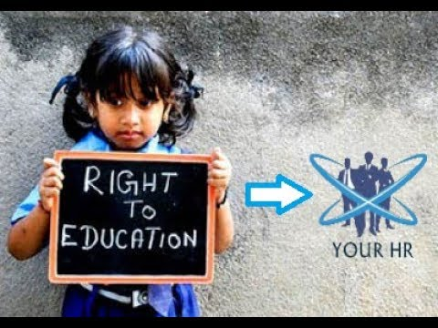 Constitutional Right To Education I शिक्षा का अधिकार I