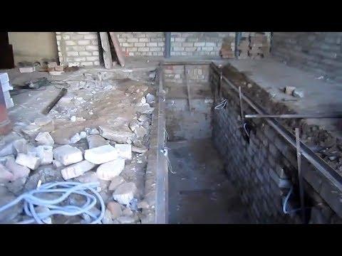 Мой гараж. Каким он был. Первые шаги ремонта.