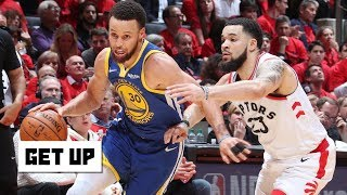 Steph and Klay expose the Raptors on defense and catch fire | Get Up