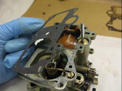 #11/12 Carburateur Zenith 32 IF2 : Remontage de la cuve