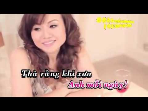 Đã bao giờ anh khóc   Karaoke   Hoàng Châu   YouTube